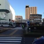 ジュビロ磐田メモリアルマラソン当日 磐田駅