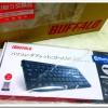 Bluetoothキーボード「BSKBB22BK」 初期不良だったので交換してもらいました。