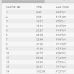 3kmごとに15秒ずつペースを上げるビルドアップ走を実施。