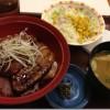 「第31回ねりま光が丘ロードレース」前日の夕食は、すき家の「豚かばやき丼」