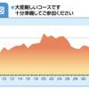 「2013いびがわマラソン」 コース高低図をみてワクワクした!