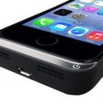 薄くて軽い!「MAGREX MB09 ウルトラスリムバッテリーケースfor iPhone5/5S」