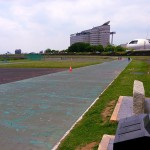 「第3回高橋尚子杯ぎふ清流ハーフマラソン」の前日。刺激いれ。