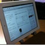 一度、新iPad(第3世代)に触れてしまうと 初代iPadにはもう戻れない。