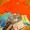 【三河湾健康マラソン】参加賞のTシャツ!がまポン!