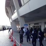 【名古屋ウィメンズ/シティマラソン2014】会場到着!荷物預け済み!