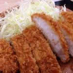 【グルメ】「2014板橋Cityマラソン」翌朝!贅沢した!「朝ロースカツ定食」