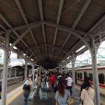 【第9回掛川・新茶マラソン】豊橋駅で乗り換え。あと1時間!