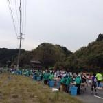 【第9回掛川・新茶マラソン】トイレ休憩。