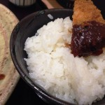 【和ダイニング四六時中】の「味噌ロースかつ定食」!味噌だけでご飯3杯いける!
