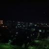 2日目の京都の朝。まだ外は暗い。