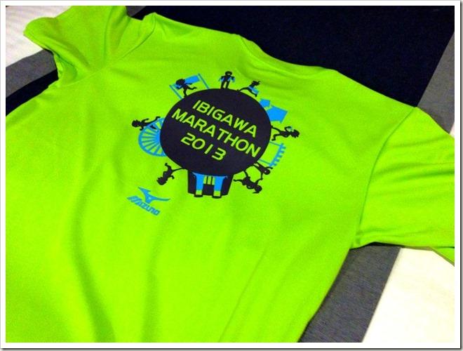 いびがわマラソン2013・オリジナルTシャツ