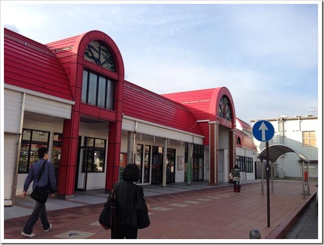 JR飯田駅に到着