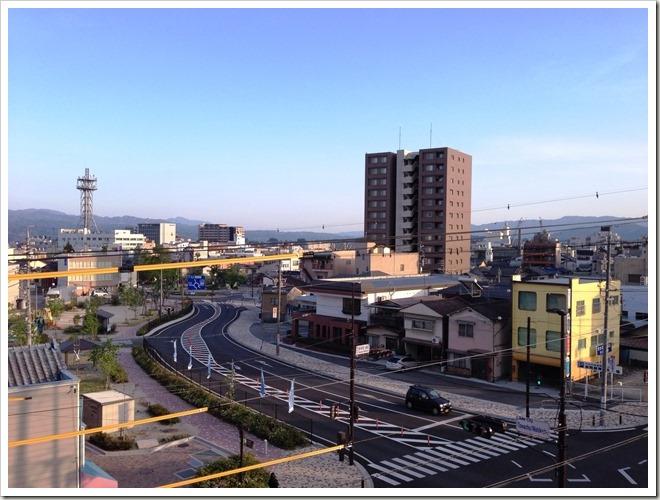 シルクホテル 部屋からの眺め