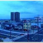 【第7回信州なかがわハーフマラソン】大会当日・朝です!曇っています。