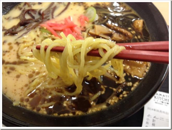 カザマツリキッチン ピアゴ飯田駅前店 とんこつラーメン