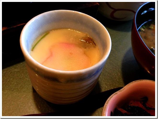 和麺カフェ 花ごよみ 茶碗蒸し