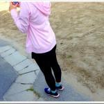 【彼女の練習】5/11 50分夕方jog ; ひと言!「バテた…。」