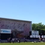 【第4回高橋尚子杯ぎふ清流ハーフマラソン】前日・高橋尚子さん、ちらっと登場。簡単な撮影会に。