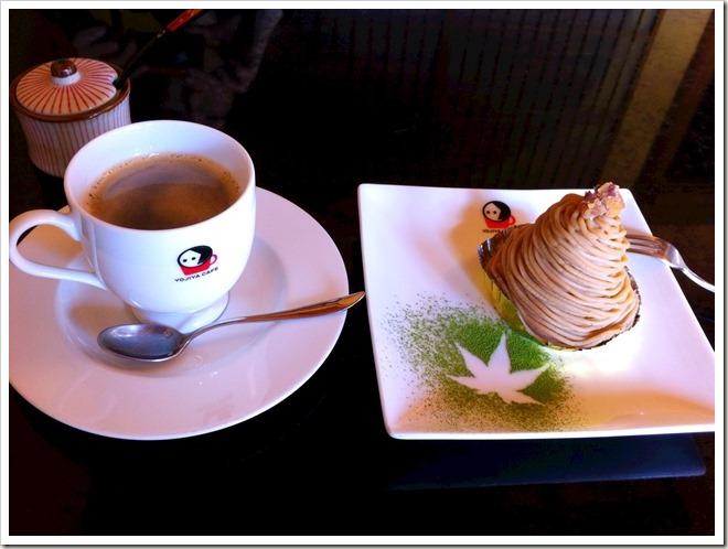 京都 あぶらとり紙のよーじや カフェ
