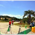 【第2回ラグーナビーチ みんなでわいわいリレーマラソン】写真で振り返る。これがラグーナビーチの特設コース