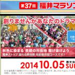 【第37回福井マラソン】エントリー開始!本日7月1日(火)午前0:00より。で、完了!