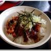 【れすとらん 海鮮庵】ぱりぱりに香ばしく焼き上げた「ひつまぶし膳」!
