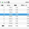 【今日の練習】7/24(朝)40分朝イチjog 7.14km