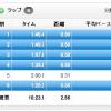 【今日の練習】7/30(夜)クルーズインターバル 2K×い、1本!