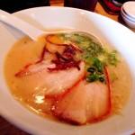 【博多一風堂(札幌狸小路店)】原点の一杯「白丸元味」!「2014北海道マラソン」前日の昼食で食べました。