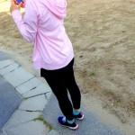 【彼女の練習】2014年10月の月間走行距離:56.54km(10回実施!)