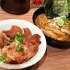 【麺屋 開高(新千歳空港店)】「2014北海道マラソン」翌日の昼食!「十勝ホエー豚丼・ハーフらー麺セット」