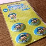 【第2回信州駒ヶ根ハーフマラソン】参加案内・ナンバーカードが来た!嬉しいオリジナル「ゼッケン留め」も。