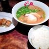 【博多うま馬(東京駅店)】「2014東京30K秋大会」前日のお昼ごはんは、やっぱり「源流 博多ラーメン」ですね!