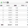 【今日の練習】10/2(夜)40分jog 6.16km!