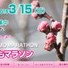 【第3回サンスポ古河はなももマラソン】2015年3月15日(日)開催!ただいまエントリー受付中です。