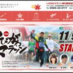 【いびがわマラソン2014】出走完走率 91.8%! ゴールシーン動画 12月15日(月)より配信開始。