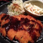 【ひさだ家 名古屋】「第18回大阪・淀川市民マラソン」の帰りに、パリッパリの豚カツ食べました!