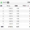 【今日の練習】11/8(朝)37分朝イチjog 6.57km!「いびがわマラソン2014」大会前日。