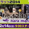 【奈良マラソン2014】開催決定!「衆院解散総選挙」の投開票日とぶつかるけど、中止にはなりません!