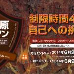 【第27回大田原マラソン】フルマラソン完走率は61.8%くらい?渋井陽子選手の結果は10km34分27秒。