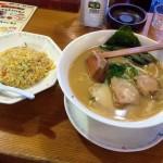 【老麺茶屋「豚竹林」】「奈良マラソン2014」完走後の昼食! 前カノと食べた豚骨ラーメンを再び。
