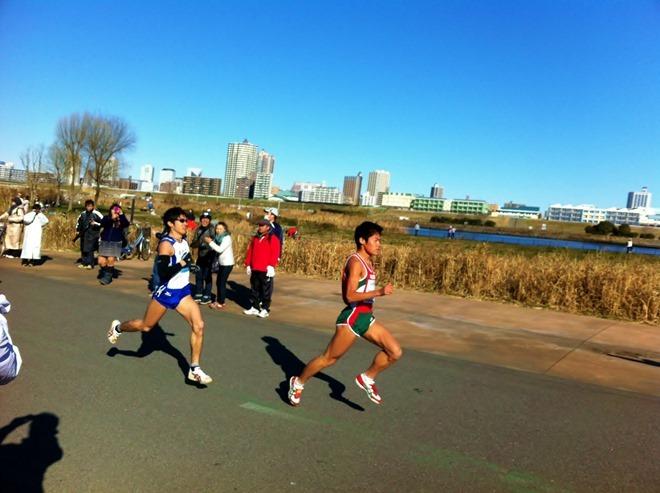 谷川真理ハーフマラソン2012 川内優輝選手の疾走