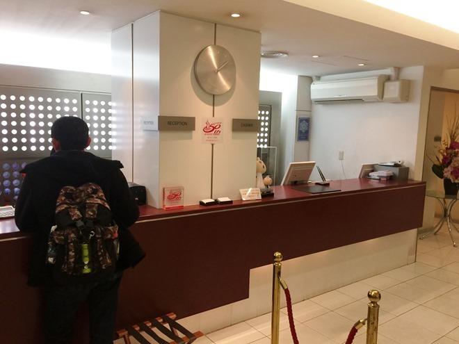 京都第二タワーホテル フロント