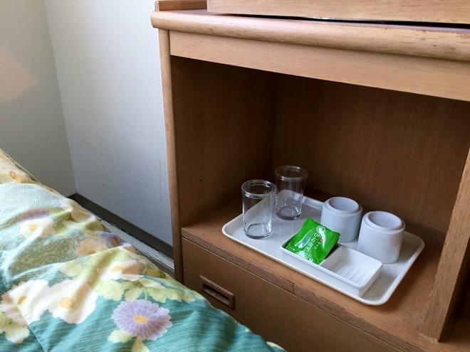 京都第二タワーホテル ツインルーム テレビ周り
