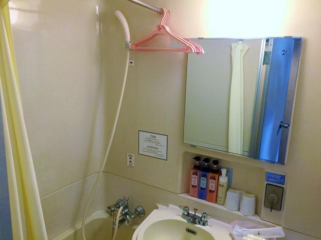 京都第二タワーホテル ツインルーム バスルーム