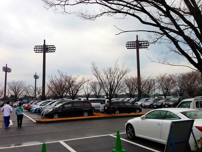 第50回記念 一色マラソン大会 坂田グラウンド駐車場