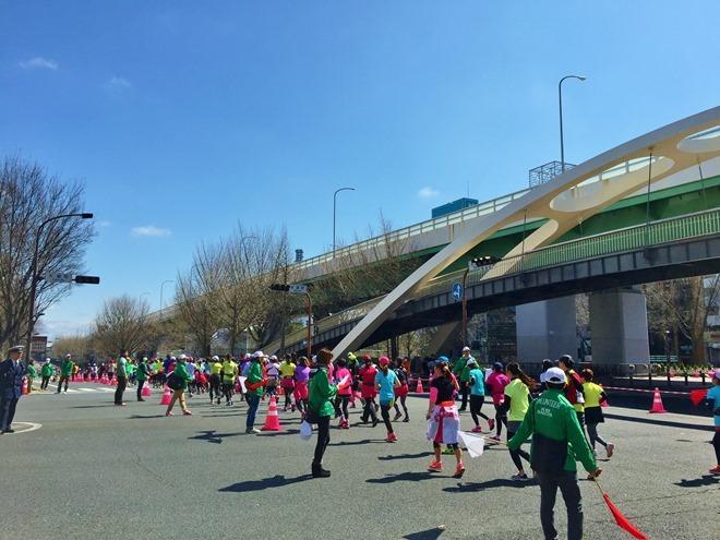 名古屋ウィメンズマラソン2015 レース途中の様子