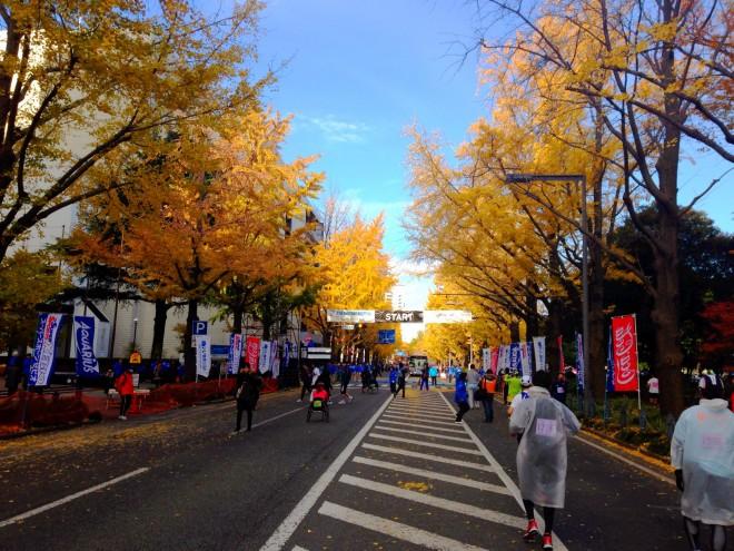 横浜マラソン スタート地点
