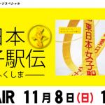 【第31回 東日本女子駅伝 2015】結果・速報・区間記録(リザルト)